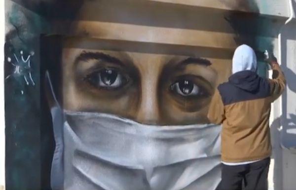 Τέχνη και κοροναϊός: Εκπληκτικά γκράφιτι για τη φονική πανδημία | imommy.gr