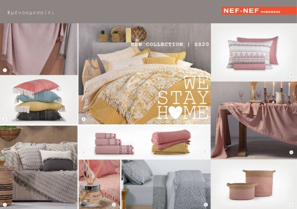 We Stay Home with Nef-Nef Homeware! | imommy.gr
