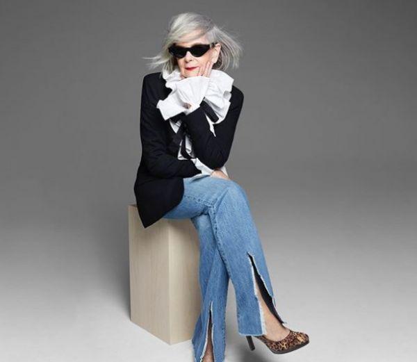 Lyn Slater : Fashion icon ετών 65 | imommy.gr