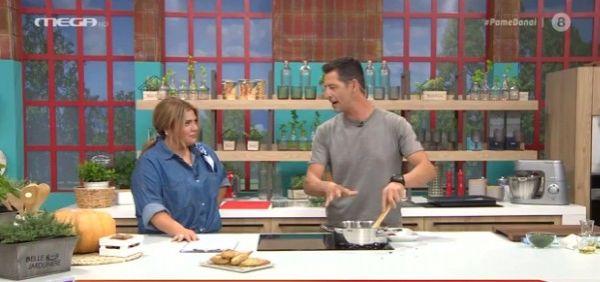 «Πάμε Δανάη!»: Πρωτότυπη συνταγή για σπανακοπιτάκια από τον Απόστολο Ρουβά | imommy.gr