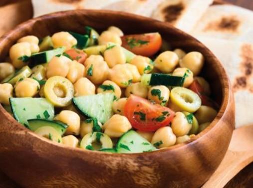 Ρεβιθοσαλάτα μεσογειακή | imommy.gr