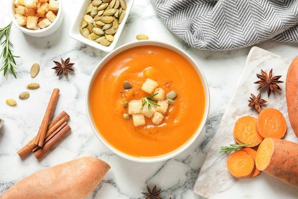 Καροτόσουπα με τζίντζερ   imommy.gr