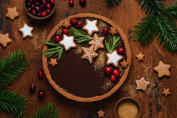 Τούρτα σοκολάτα για γλυκιά Πρωτοχρονιά | imommy.gr