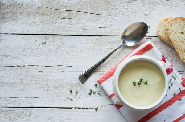Βελουτέ σούπα με σπαράγγια | imommy.gr