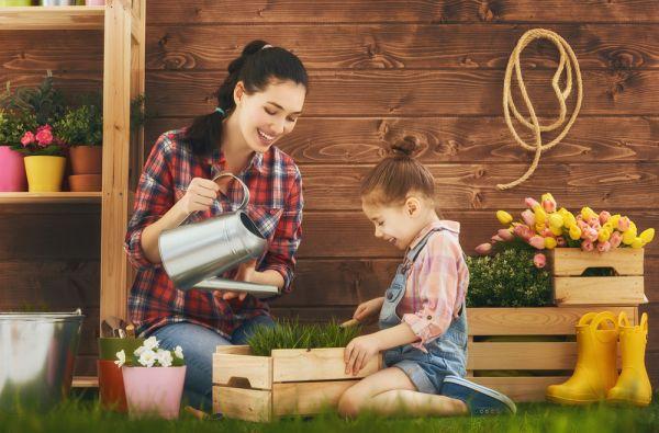 Πώς θα φτιάξουμε τον δικό μας ανοιξιάτικο κήπο μαζί με το παιδί | imommy.gr