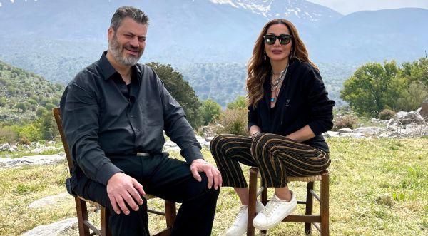 MY GREECE: Η Δέσποινα Βανδή στο Ρέθυμνο με τον Μανώλη Κονταρό   imommy.gr