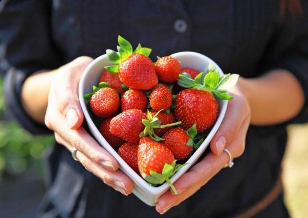 Γλυκό ψυγείου με βανίλια και φράουλες   imommy.gr