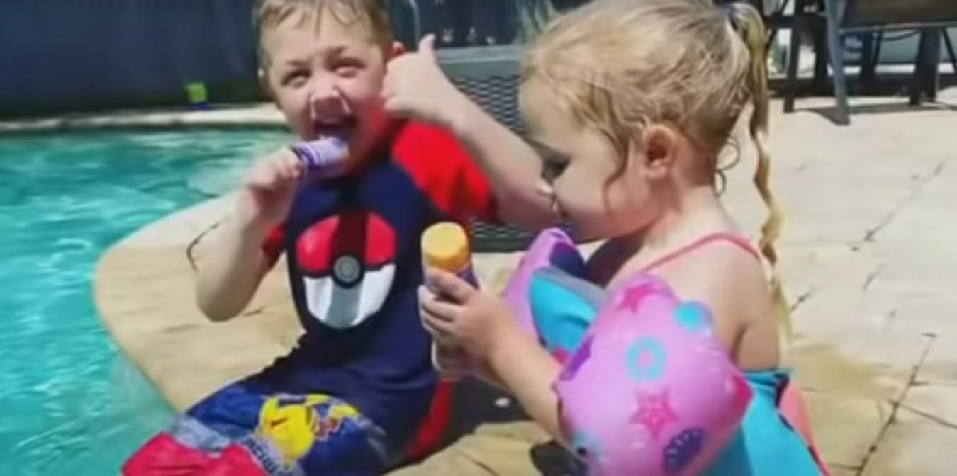 Επτάχρονος ήρωας κολύμπησε επί μια ώρα για να σώσει τον μπαμπά και την αδερφή του | imommy