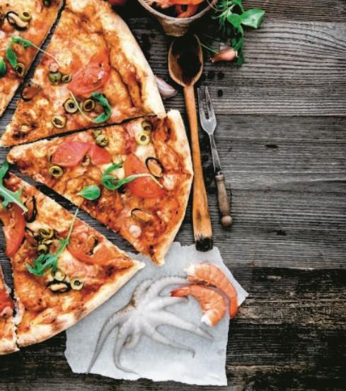 Πίτσα με θαλασσινά   imommy.gr