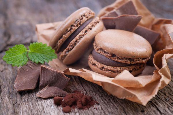 Απολαυστικά μακαρόν με κρέμα σοκολάτας   imommy.gr