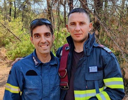 Έλληνας πυροσβέστης έδωσε τη γαλανόλευκη σε ρουμάνο συνάδελφό του – Η συγκινητική ιστορία | imommy.gr