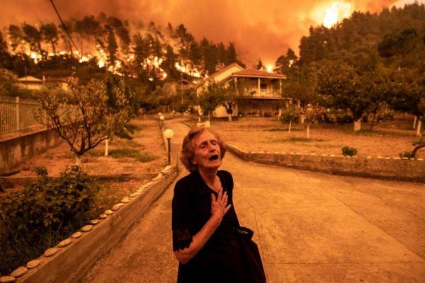 Φωτιές – Η βιβλική καταστροφή της Εύβοιας στους «New York Times» – Το συγκλονιστικό πρωτοσέλιδο   imommy.gr